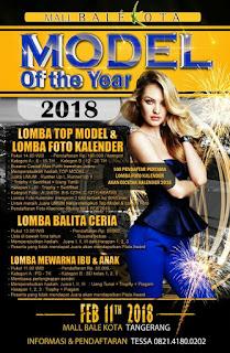 Event Model Of The Year 2018 Peserta Anak-Anak