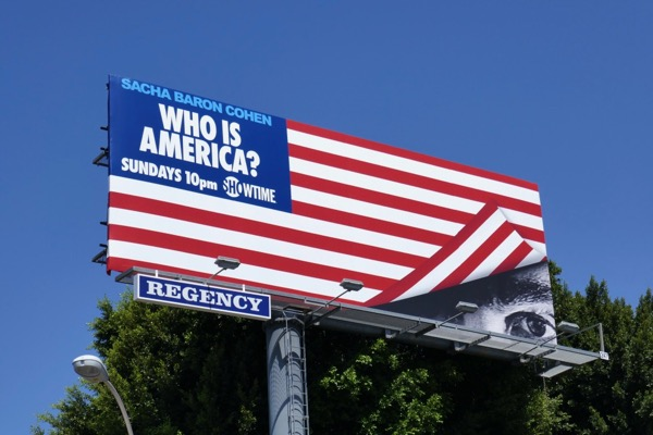 Who is America series billboard