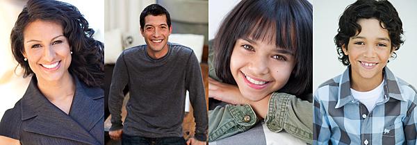 Nancy Rosales - Aaron Marnet - Abigail D - Wesley S - Cast Images
