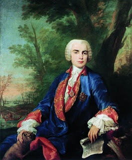 Portrait of Farinelli by Jacopo Amigoni (c. 1755)