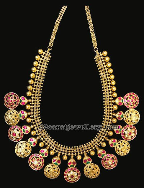 Antique Finish Bottu Mala