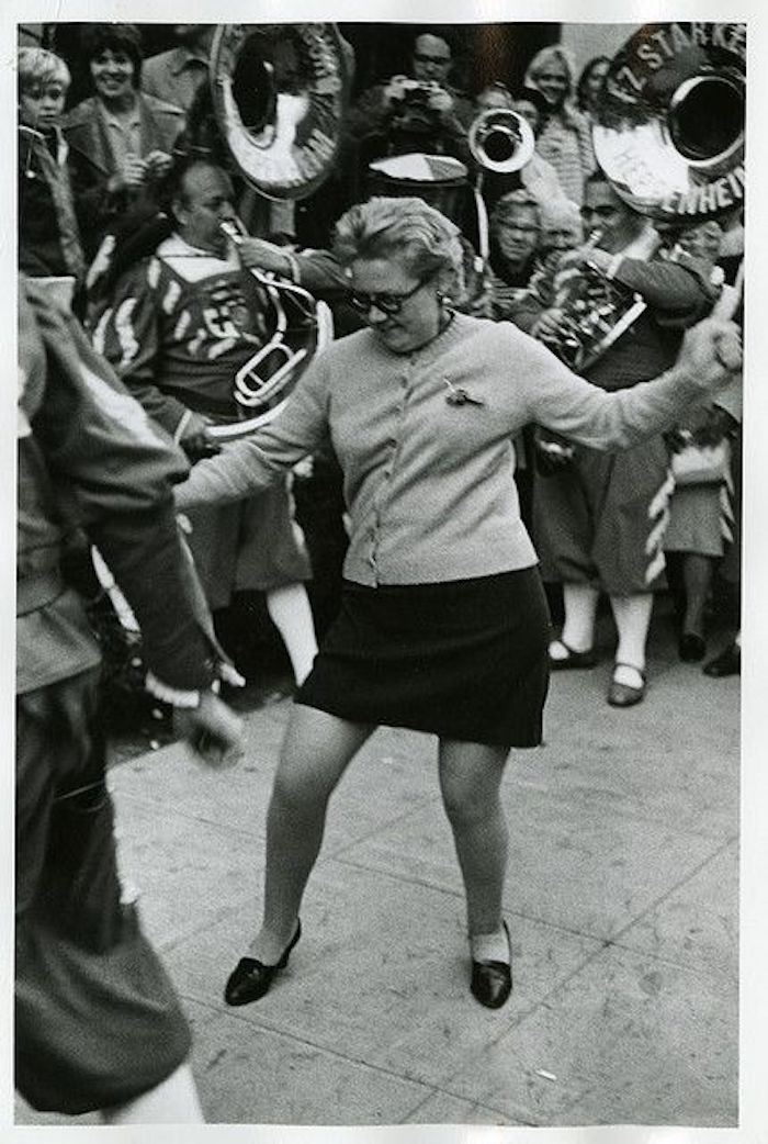 Dancing in the street. New York 1967. I'm betting on grandma and other stories of Grandmas and Reason. marchmatron.com