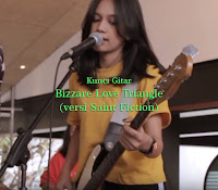 Chord Kunci Gitar Bizzare Love Triangle versi Saint Fiction Band