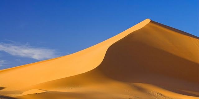 Morfologia eolica o del viento y desiertos