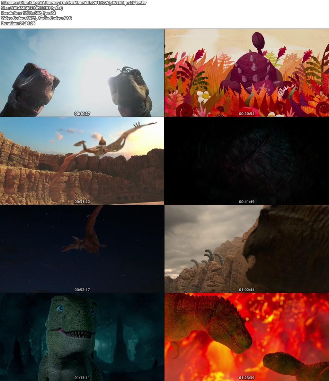 Dino King 3D Journey To Fire Mountain 2019 720p WEBRip x264 | 480p 300MB | 100MB HEVC Screenshot