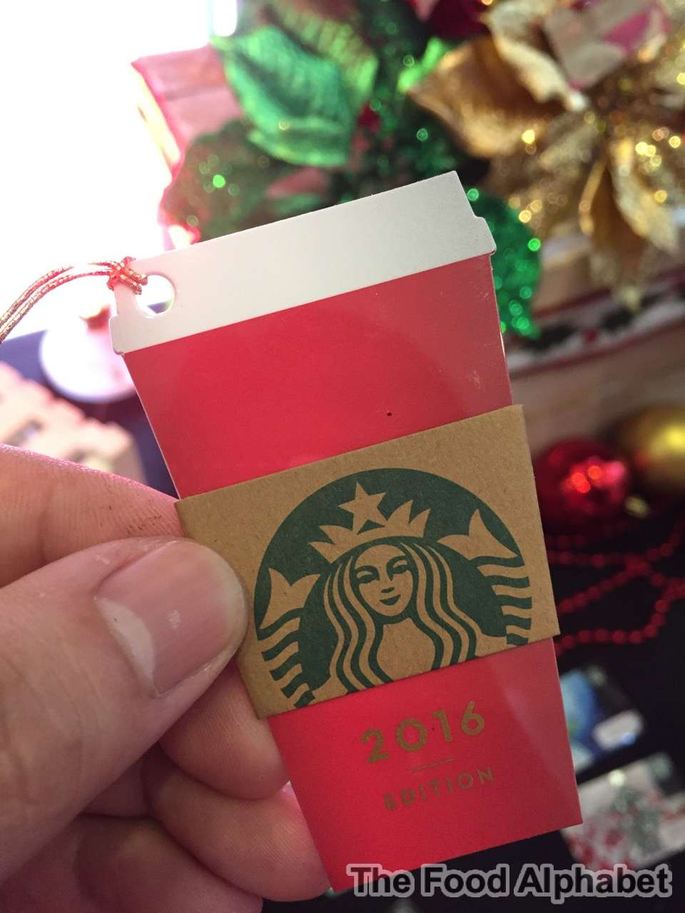 The Food Alphabet And More Attn Starbucks Card