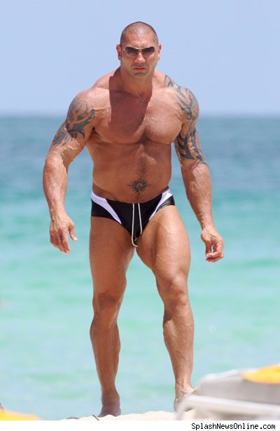 STRENGTH FIGHTER™: Dave Batista workout