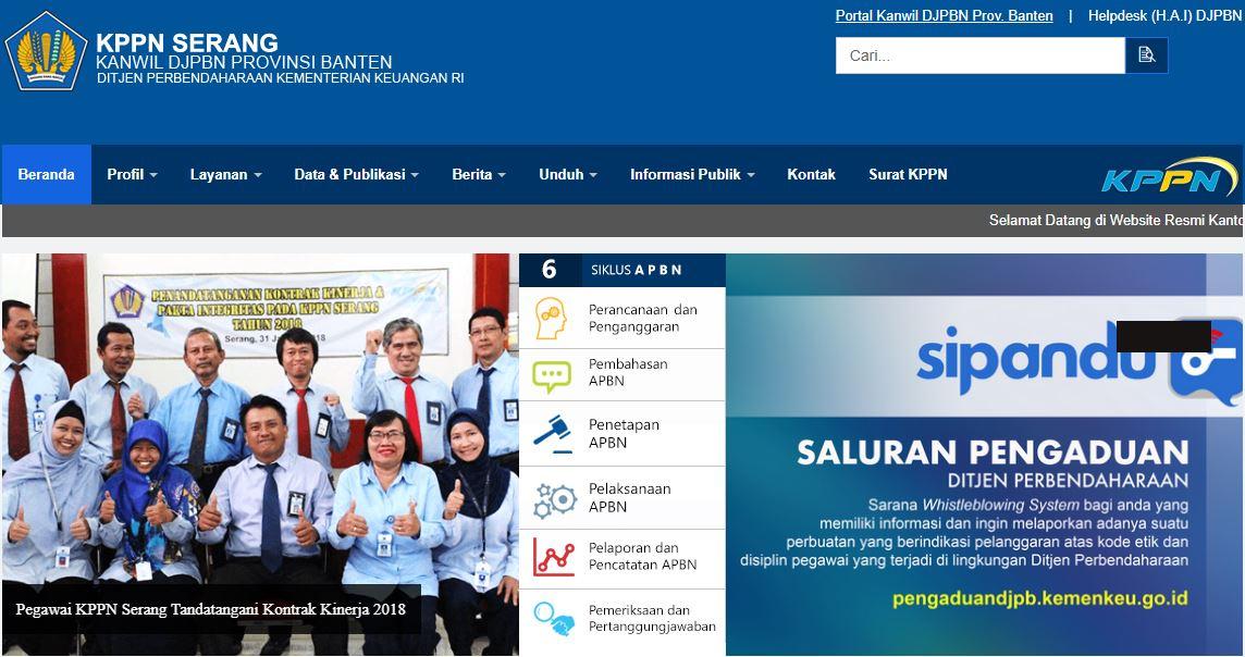 Alamat Lengkap Dan Nomor Telepon Kantor KPPN Di Banten