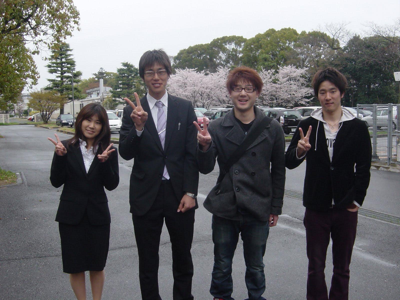 岡山大学・薄膜物性学研究室ブログ: 入学式