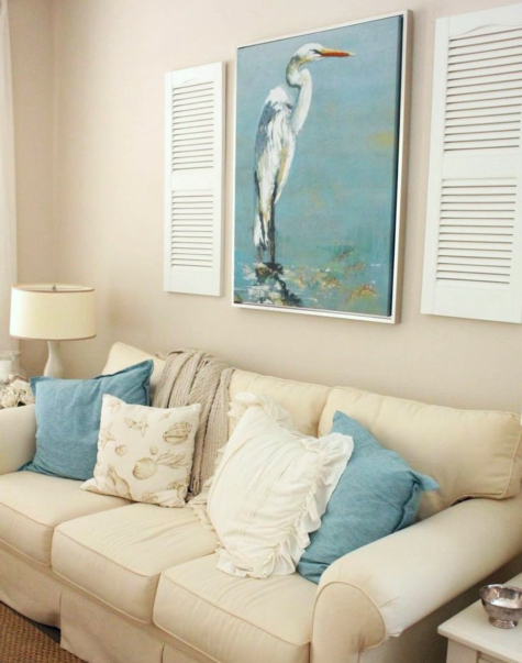 Wall Decor Ideas with Shutters