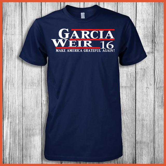 Garcia Weir 16 Make America Grateful Again! Shirt