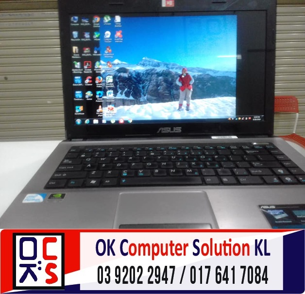 [SOLVED] SKRIN ASUS A43S PECAH | REPAIR LAPTOP CHERAS 5