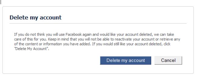 Delete Facebook Account Permanently - Delete My Account Right Now   Delete Facebook Account Link