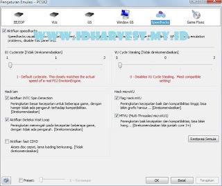 Cara Setting PCSX2 untuk Bermain HM AWL SE