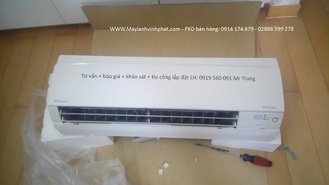 Lắp Máy lạnh treo tường Daikin 1HP – May lanh treo tuong cam kết hàng chính hãng – rẻ số 1 4