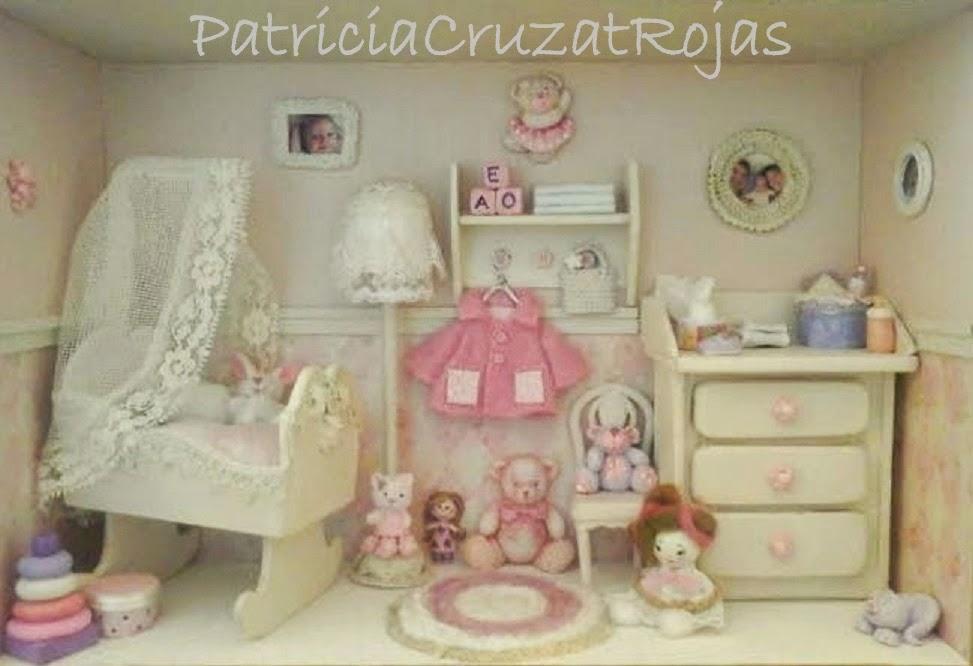Patricia cruzat artesania y color dormitorio beb ni a - Dormitorios bebe nina ...