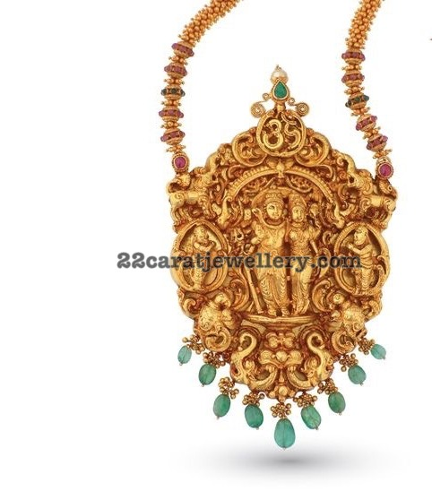 Lord Shiva Antique Pendant