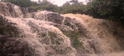 air terjun gunung salindung sambas kalbar indonesia