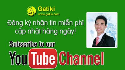 Đăng ký nhận tin miễn phí tại Gatiki