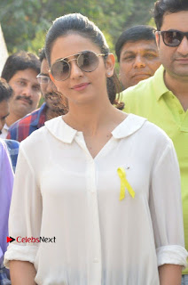 Actress Rakul Preet Singh at Endometriosis Awareness Walk at Apollo Cradle  0010.jpg