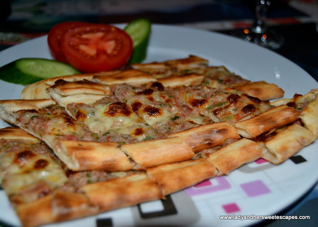 Mixed Pide at Kayas Restaurant