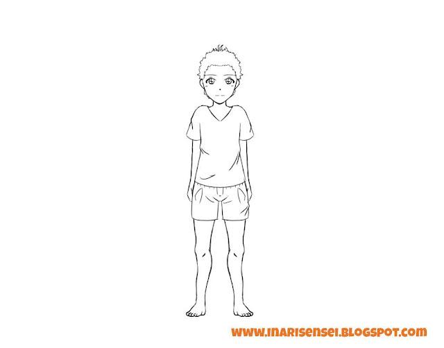 Dessiner un corps manga: habiller le personnage
