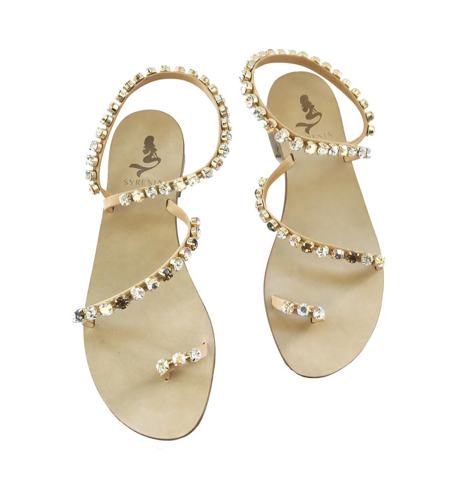 SYRENIA Handmade Capri Sandals  JEWEL SANDALS e2761abdc1f
