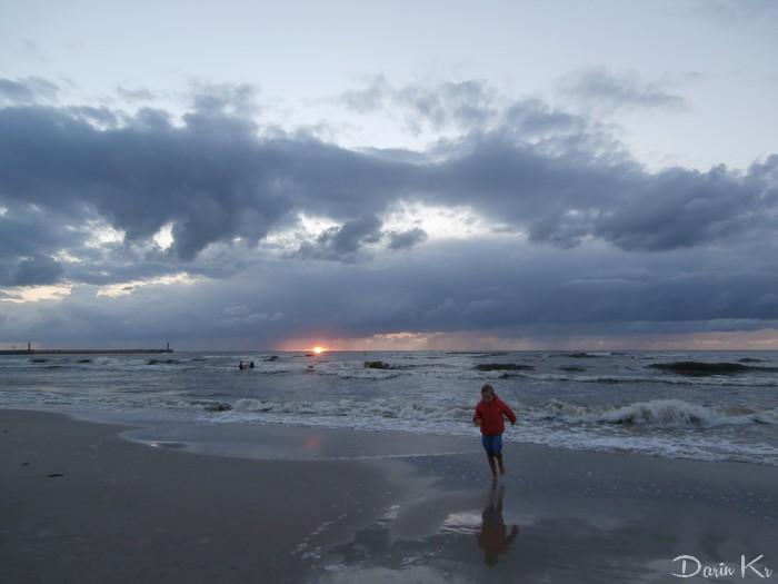 Wieczory nad morzem. / Łeba 2016