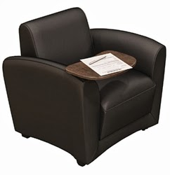 Santa Cruz Tablet Arm Lounge Chair