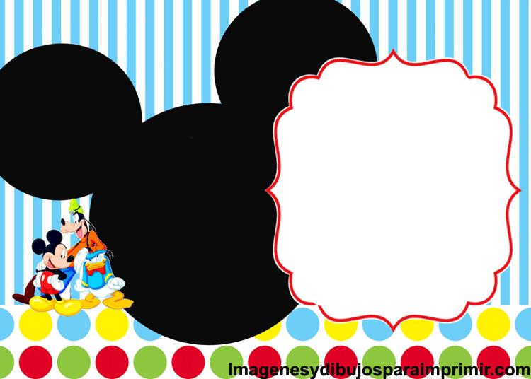 Tarjetas De Cumpleaños De Mickey Imágenes Y Dibujos Para
