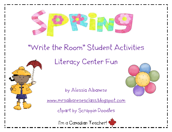 http://www.teacherspayteachers.com/Product/Write-the-Room-Literacy-Center-Spring-214935