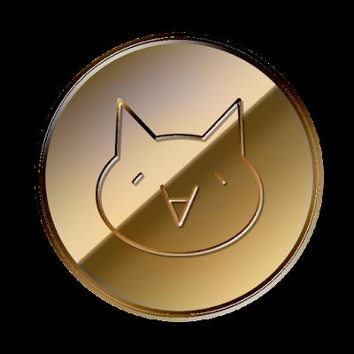 モナコイン (MonaCoin)表面のフリー素材(銅貨ver)