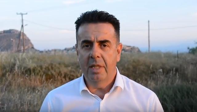 Ο Δήμαρχος Ναυπλιέων Δημήτρης Κωστούρος: Η καταπολέμηση των κουνουπιών συνεχίζεται (βίντεο)