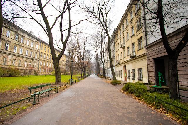 Planty Dietlowskie-Cracovia