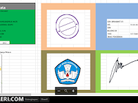 Aplikasi Cetak Kartu Peserta Ujian Sekolah Resmi dilengkapi Foto Siswa
