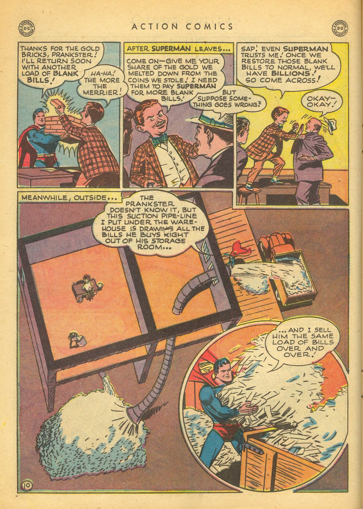 Read online Action Comics (1938) comic -  Issue #109 - 12