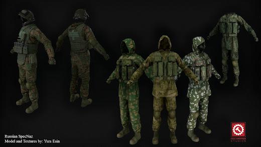 Arma3用現代軍MODのスペツナズ用装備