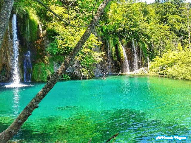 Parque Nacional dos Lagos Plitvice, na Croácia