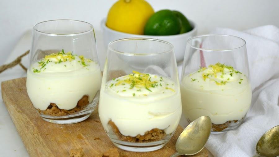 Mousse de limón con leche condensada ¡Solo 3 ingredientes!