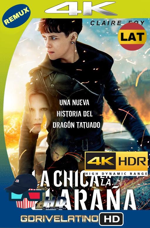 La Chica en la Telaraña (2018) BDRemux 4K HDR Latino-Ingles mkv