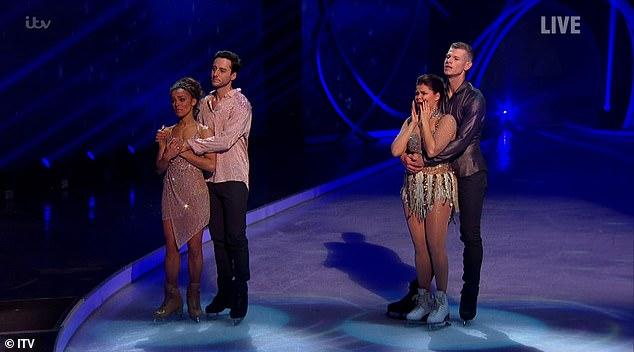 wer ist ausgeschieden bei dancing on ice