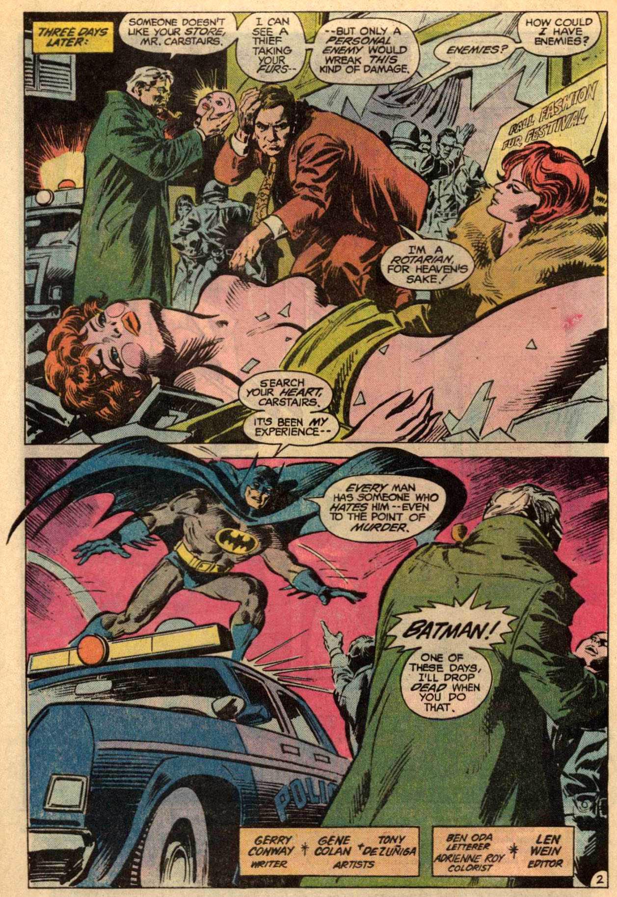 Detective Comics (1937) 523 Page 3