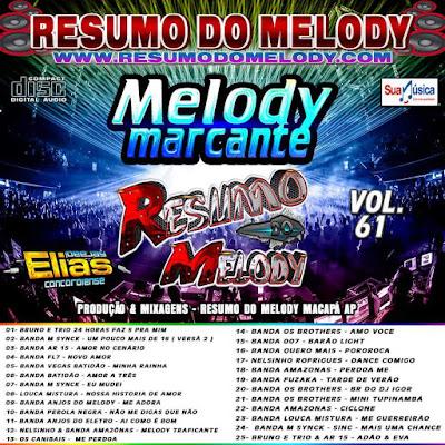 Cd Resumo do Melody vol. 61