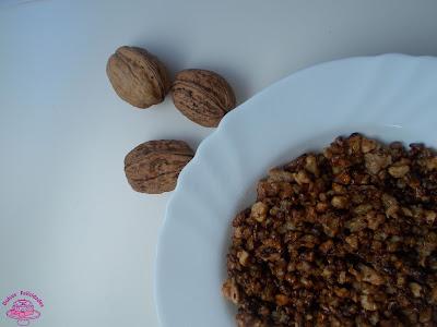 Crocanti de nueces casero
