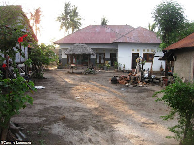 Family compound on Gili Air, Indonesia