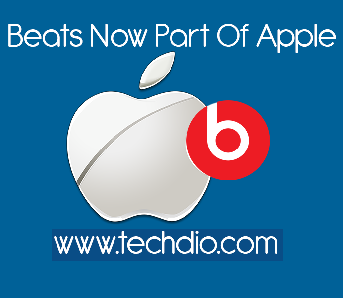 Beats. Now Part of Apple-Techdio