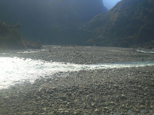 Manaslu Buri Gandaki River Valley