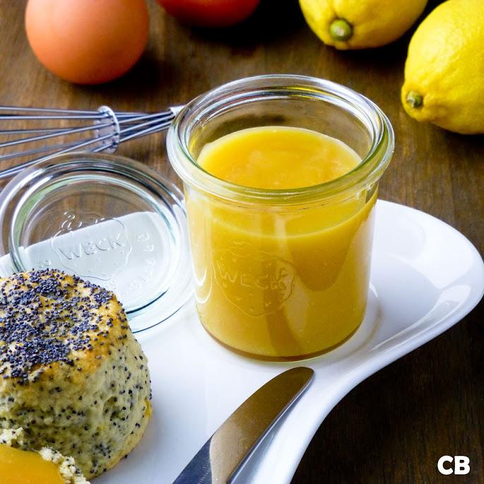 Zelfgemaakte lemon curd voor bij je high tea