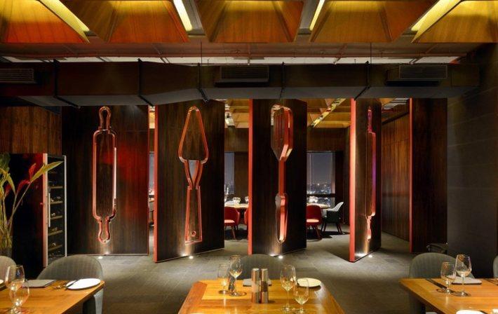 nhà hàng quán ăn thiết kế độc 3
