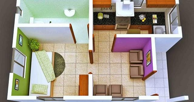 5 Contoh Denah Interior Rumah Minimalis yang Menginspirasi